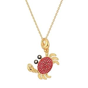 KATE SPADE SHORE THING CRAB NECKLACE NWT